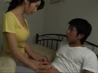 Caring Lovely Stepmother Makes Her Teenage Stepson Virgin Boy No More