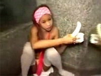 Thai Monkey Girl Fucked Up 5 Times For One Night