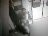 Amateur Arab Chick Caught Sucking In A Metro Train