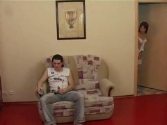 Teen Stepsister Enters Her Brothers Room In Very Bad Moment