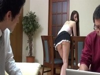 Housemaid Provokes Young Boss To Fuck Her