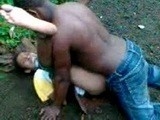 Amateur African Woman Fucked In Jungle