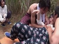 2 Village Girls Trapped By Two Punks And Roughly Assaulted In The Field