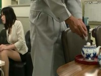 Creepy Janitor Put Some Forbidden Stuff In New Secretary Tea So He Could Fuck Her Rough Without Resisting