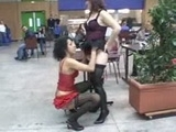 I cant believe what this hookers did at bus station