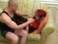 Sonny Boy Knows How To Help Redhead Mommy With Terrible Headache She Had