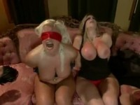 Tied Up Busty Mother and Daughter Welcomed Wrong Guys