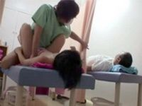 Naive Hubby Couldnt Even Imagine How Much His Wife Enjoying This Massage