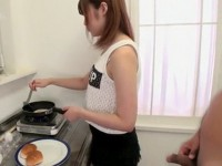 Daughter In Law Gets Interrupted In Making Breakfast