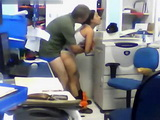 Real Amateur Brazilian Secretary Fucking Her Boss In The Office