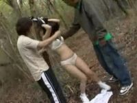 Horrified Kidnapped Teen Gets Brutally Fucked Deep In The Forest By Her Kidnappers