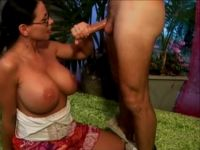 Busty Milf Sex Teacher Is In the Mood For Anal Today