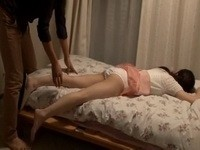 Tired Sleeping Uncles Wife Gets Fucked By Boy