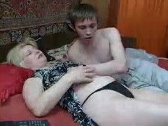 Reckless Mom Will Experience Hard Cock Impact From Her Mouthwatering Teenage Stepson