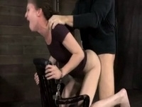 Handcuffed Teen Throat Fucked And Creampied By Evil Man