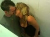 I share my girlfriend with my best friend in public toilet