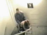 Coworkers Caught Fucking On A Stairway Of A Company Building During Working Hours
