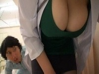 Busty Milf Doctor Groped By Her Sick Teenager Patients at Hospital