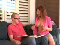 Showing Big Tits To Son In Law Paids Off