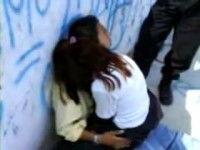 Amateur Teenagers Busted Fucking In Public By The Police Officers