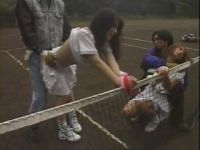 2 Japanese Girls Attacked And Violated By Two Local Punks At Tennis Court