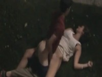 Voyeur Tapes Wasted Drunk Party Chick Getting Fucked By Teenager In Public