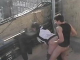 Wife Caught Cheating With first Neighbor On The Roof Of The Building