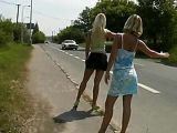 Hitchhiker Hookers Earns Their Money Hard Way