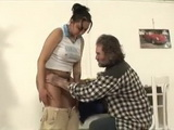 Gipsy Daughter In Law Gets Fucked By Her Handicapped One Leg Father In Law