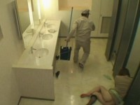 Unwilling Lady Gets Fucked and Creampied By Crazy Janitor In the Public Toilet