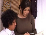Hot Busty Milf Private Teacher Anri Okita Is Ruining Boys Study Concentration