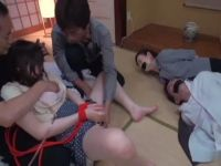 Frightened Unwilling Teen Daughter Gets Brutally Fucked In Front Of Eyes Of Her Desperate Tied Up Parents