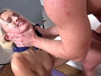 Shooting For Modeling Turns Into Rough Throat and Anal Torture Fuck